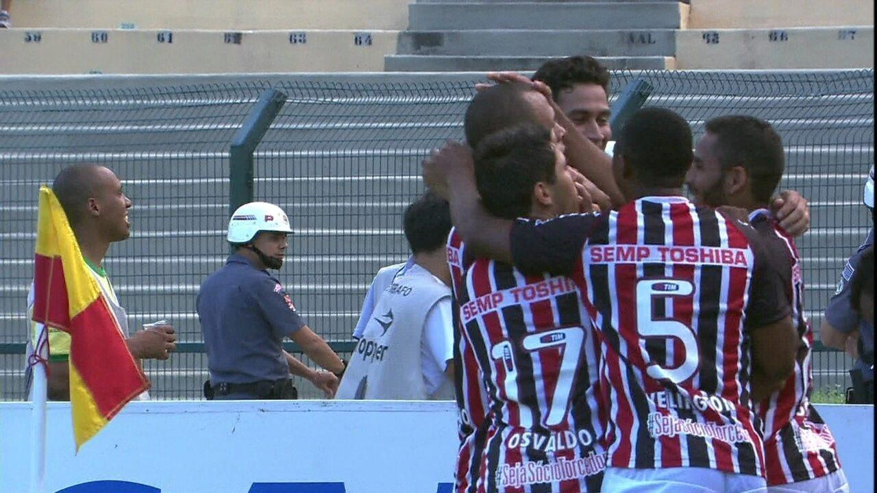 Veja os gols da última vitória do São Paulo como visitante contra o Corinthians