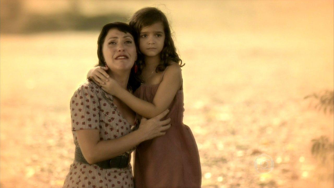 Joia Rara - capítulo de sexta-feira, dia 21/03/2014, na íntegra - Pérola sonha que o bebê de Matilde sumiu