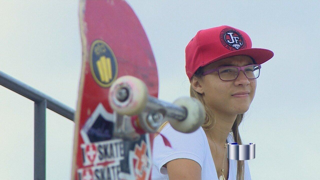 Pamela conquistou a prata nos X-Games com 14 anos