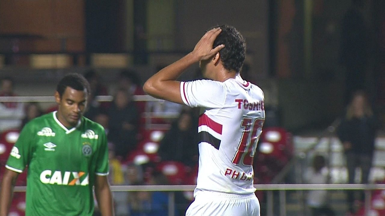 Os melhores momentos de São Paulo 0 x 1 Chapecoense pela 11ª rodada do Brasileirão 2014