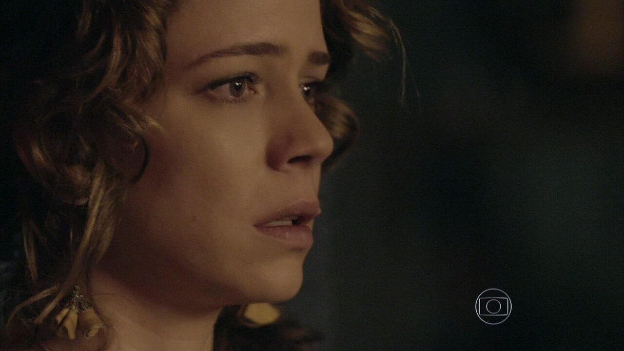 Império - Capítulo de sexta-feira, dia 01/08/2014, na íntegra - Cristina mente para José Alfredo