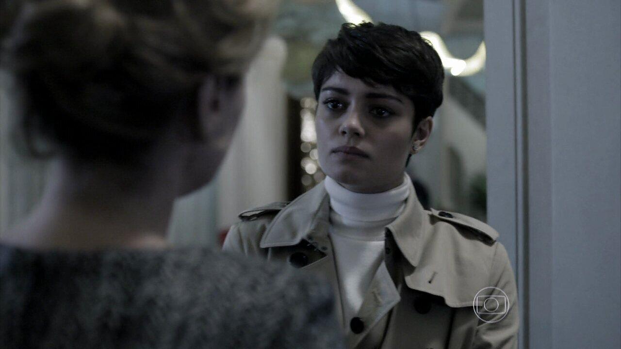 Capítulo de 12/08/2014 - Duda volta para casa, e Angela avisa que a polícia quer falar com ela