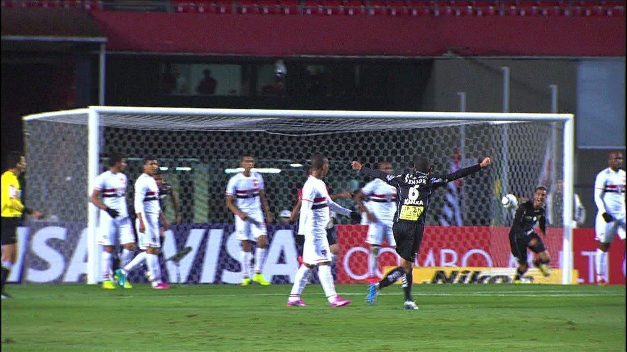 São Paulo perde em casa para o Bragantino e é eliminado da Copa do Brasil