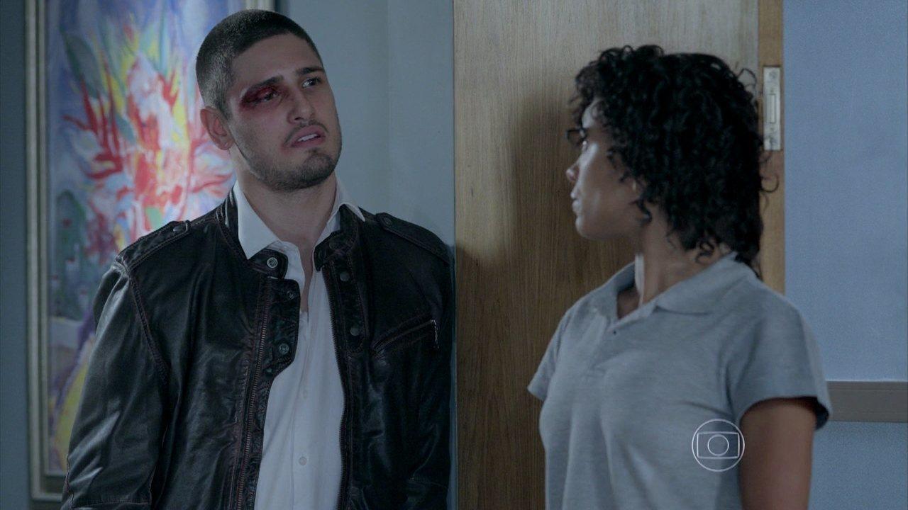 Império - Capítulo de terça-feira, dia 26/08/2014, na íntegra - João Lucas descobre o apartamento de Maria Isis