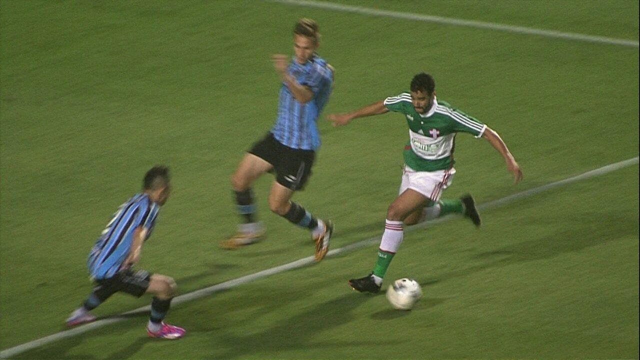 Melhores momentos: Palmeiras 2 x 1 Grêmio pela 18ª rodada do Brasileirão 2014