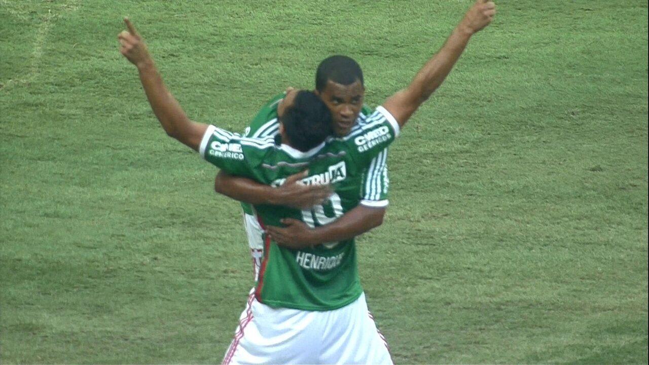 Relembre o primeiro gol do Palmeiras na Arena