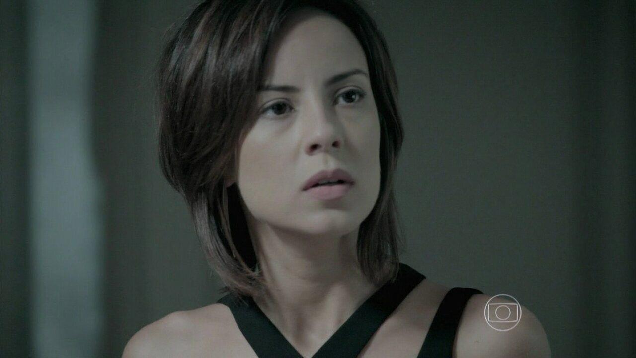 Império - capítulo de quarta-feira, dia 14/01/2015,na íntegra - Maria Clara ouve Maurílio ameaçar Cristina
