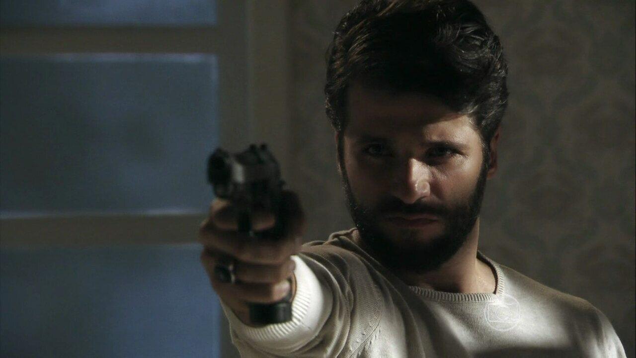 Confira Bruno Gagliasso em 'Cereal Killers'