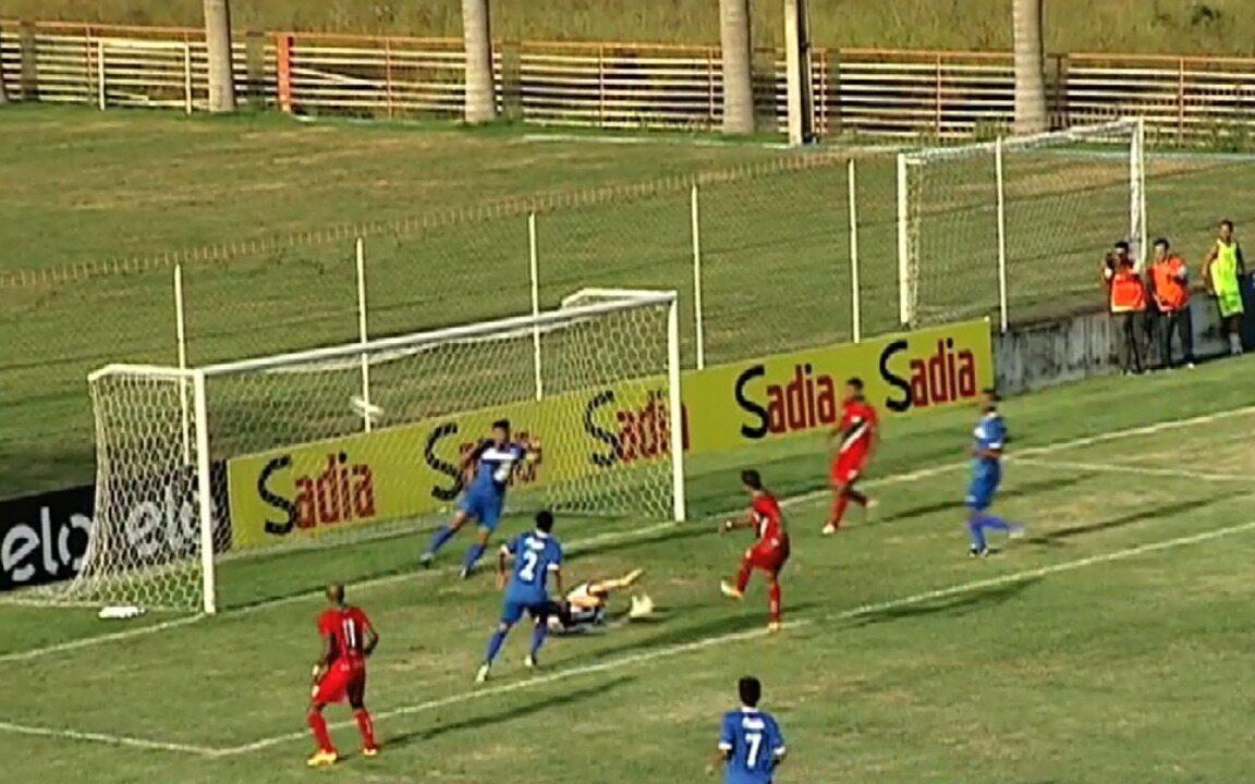 Os gols de Real Noroeste 3 x 2 Atlético-AC, pela Pré-Copa do Brasil