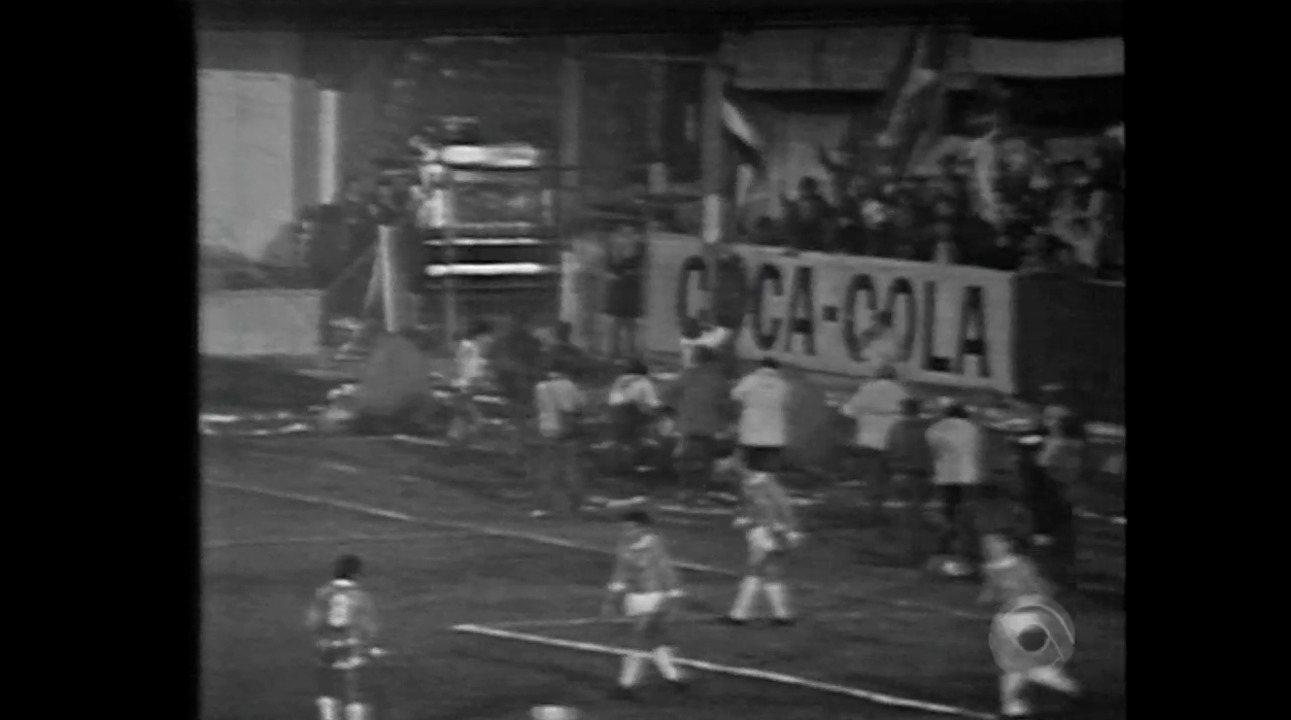 Relembre o segundo jogo da final da Libertadores de 1980 entre Inter e Nacional