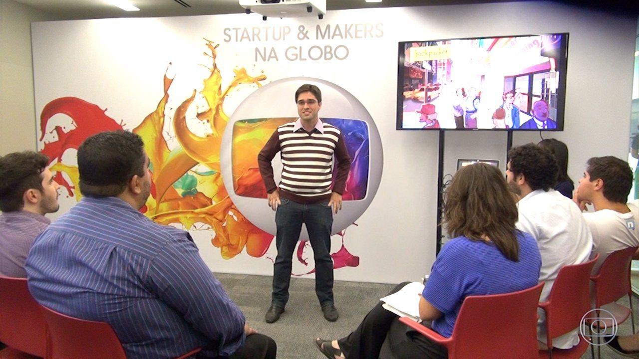 Startups validam seus projetos com profissionais da Globo