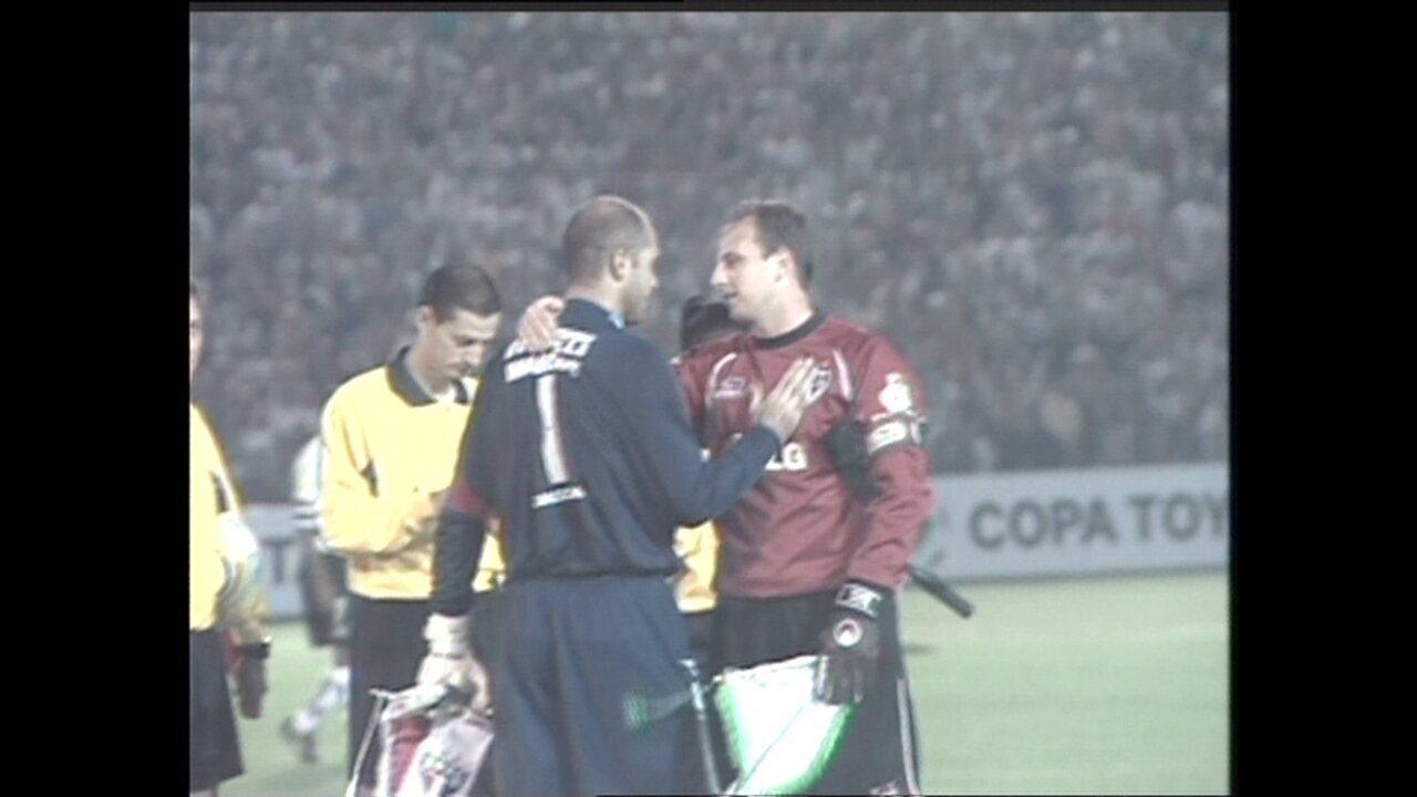 São Paulo eliminou o Palmeiras na Libertadores de 2005