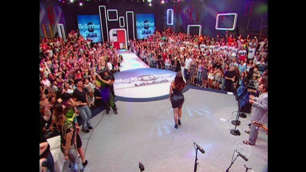 Ivete Sangalo levantou poeira na final do BBB10
