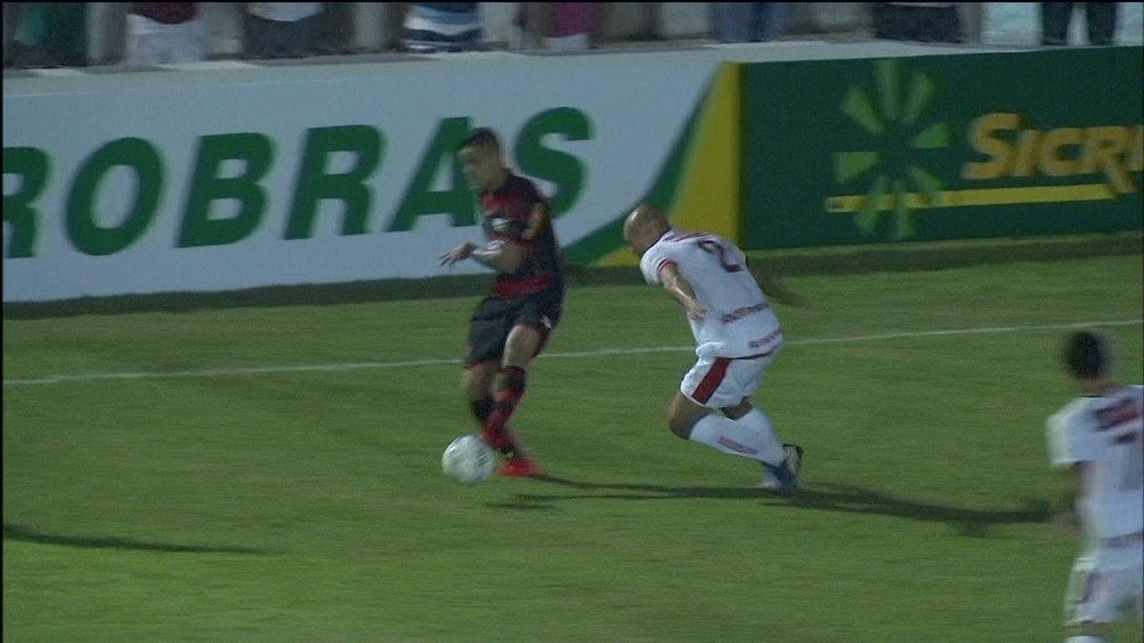 Melhores momentos: Salgueiro-PE 0 x 2 Flamengo pela 2ª fase da Copa do Brasil 2015
