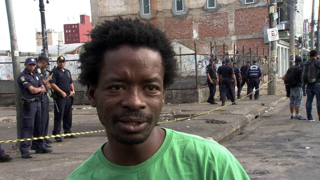 Pedacinho do inferno, diz ator de Cidade de Deus sobre a Cracolândia de São Paulo