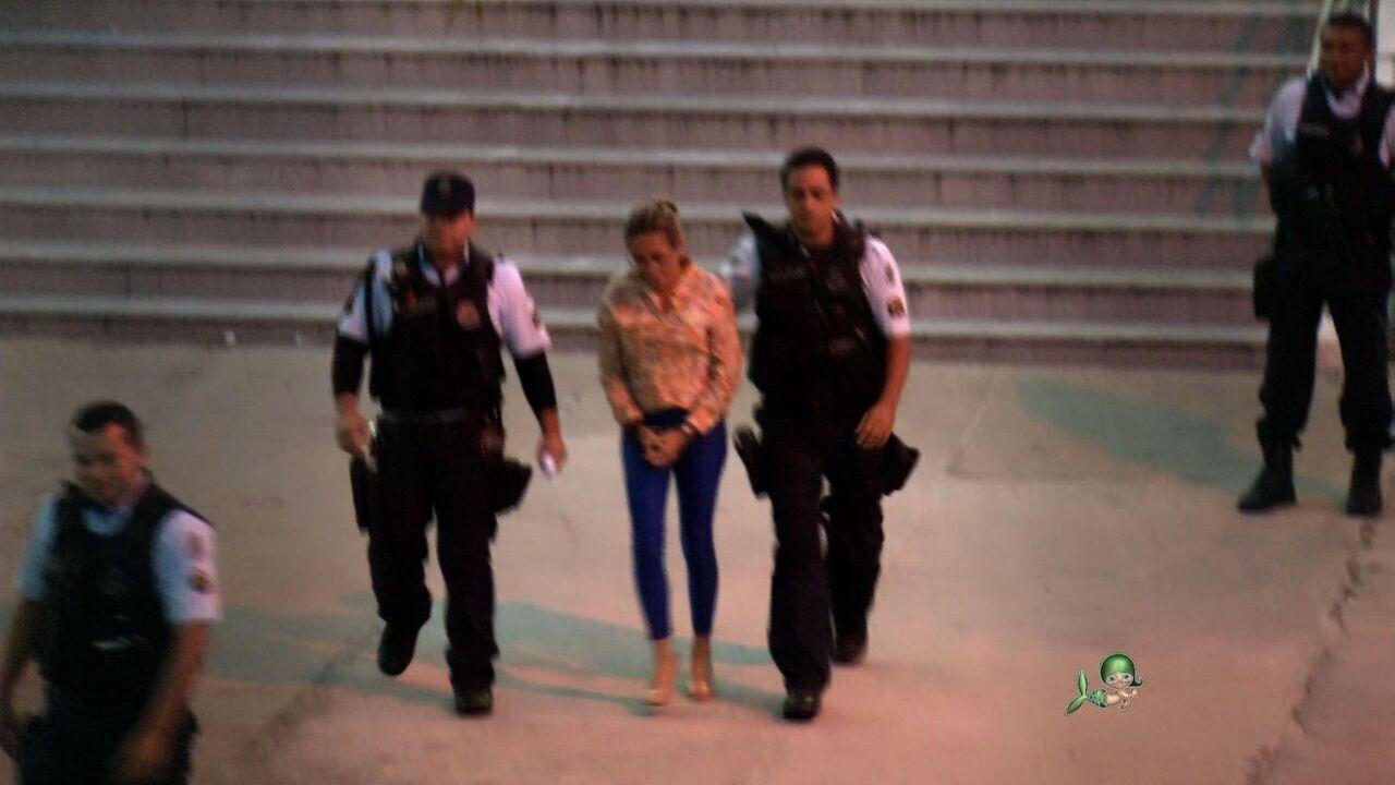 Cristiane Coelho se entrega à polícia e está presa em Fortaleza