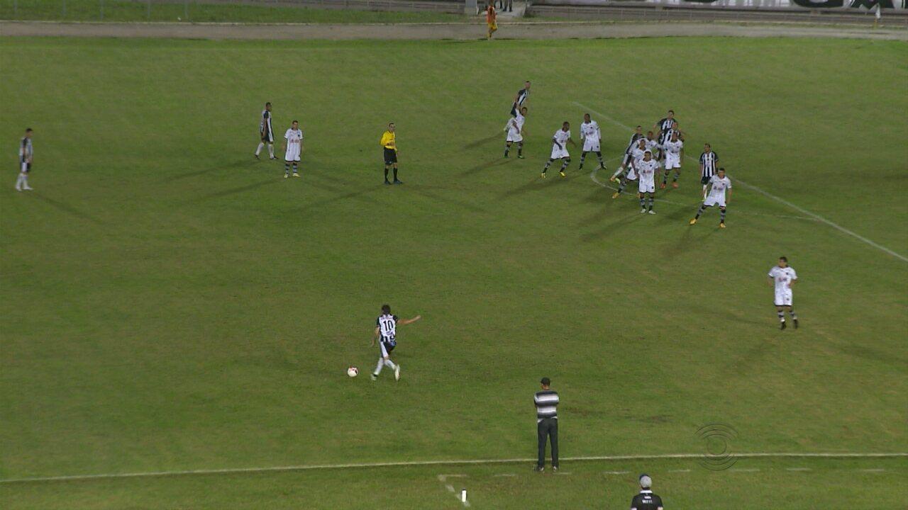 Veja os melhores momentos entre Treze e Botafogo