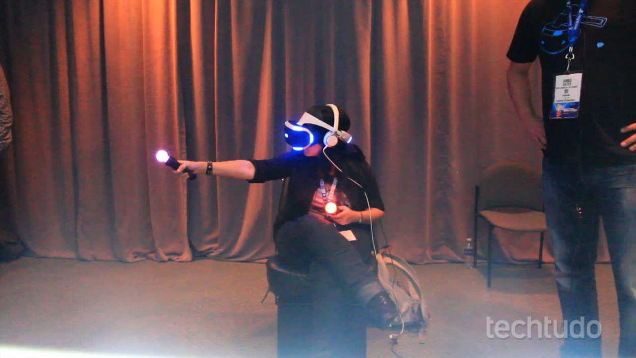 E3 2015: conheça o Morpheus, óculos de realidade virtual da Sony