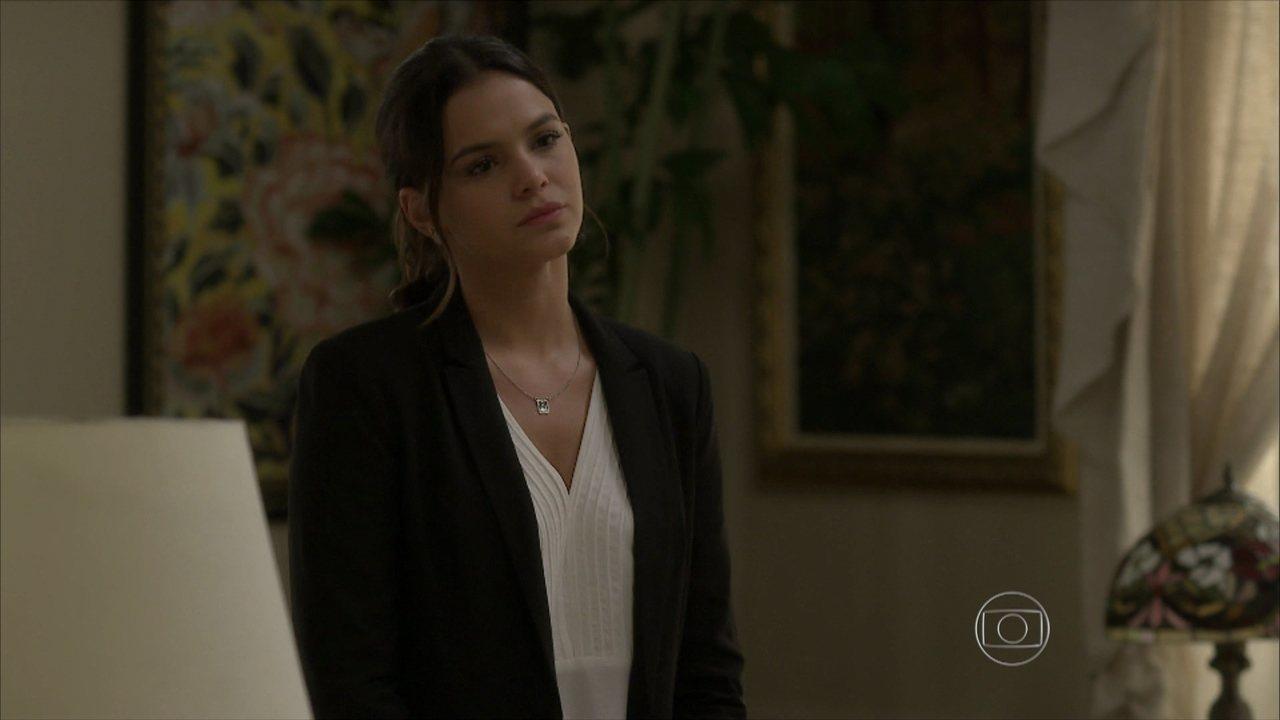 I Love Paraisópolis - capítulo de quarta-feira, dia 15/07/15, na íntegra - Mari diz a Benjamin que não acredita mais no amor dele