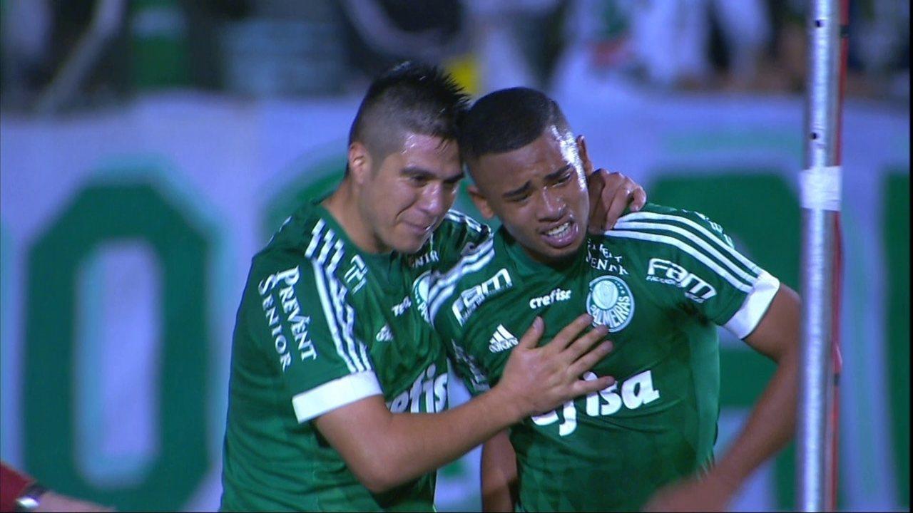 O gol de Asa 0 x 1 Palmeiras pela 3ª fase da Copa do Brasil 2015