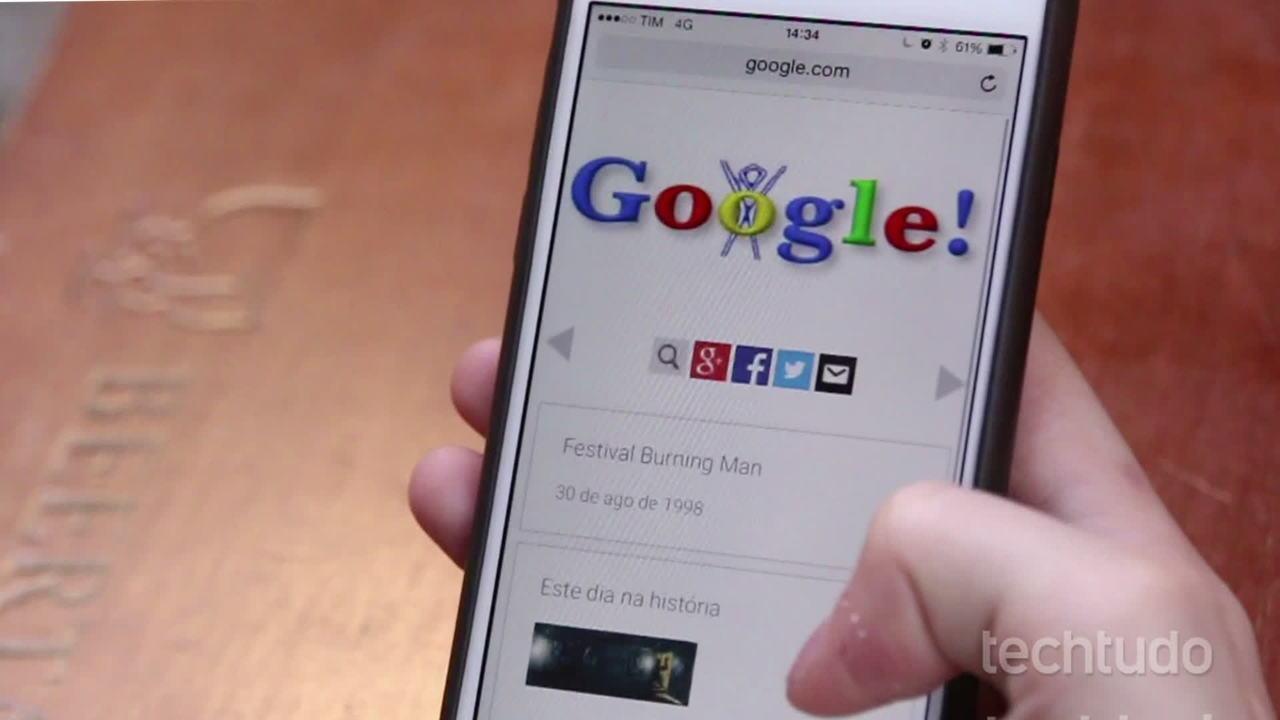 A história dos Doodles do Google