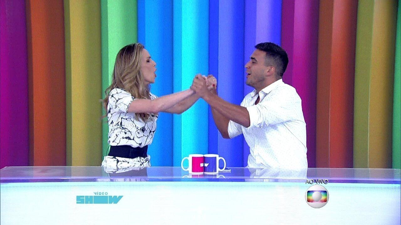 Ana Furtado e André Marques assumem a bancada do Vídeo Show