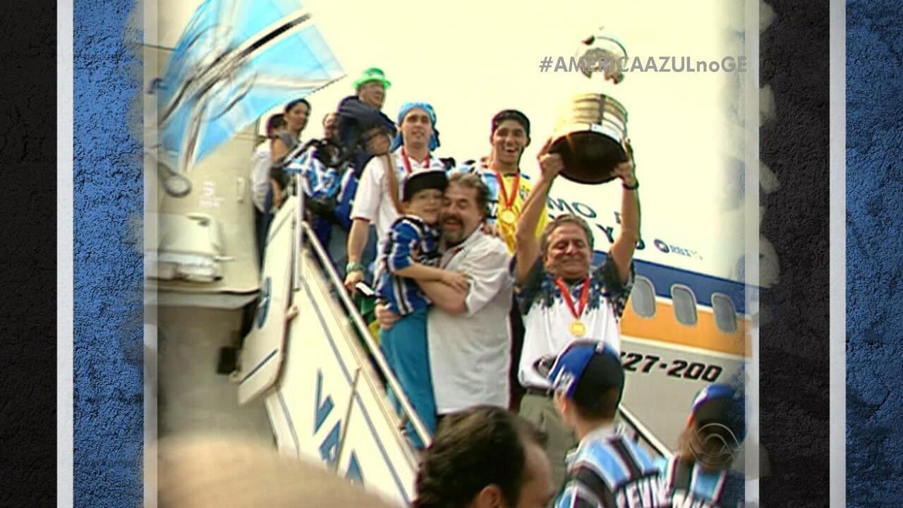 Reveja a final da Libertadores de 1995, conquistada pelo Grêmio