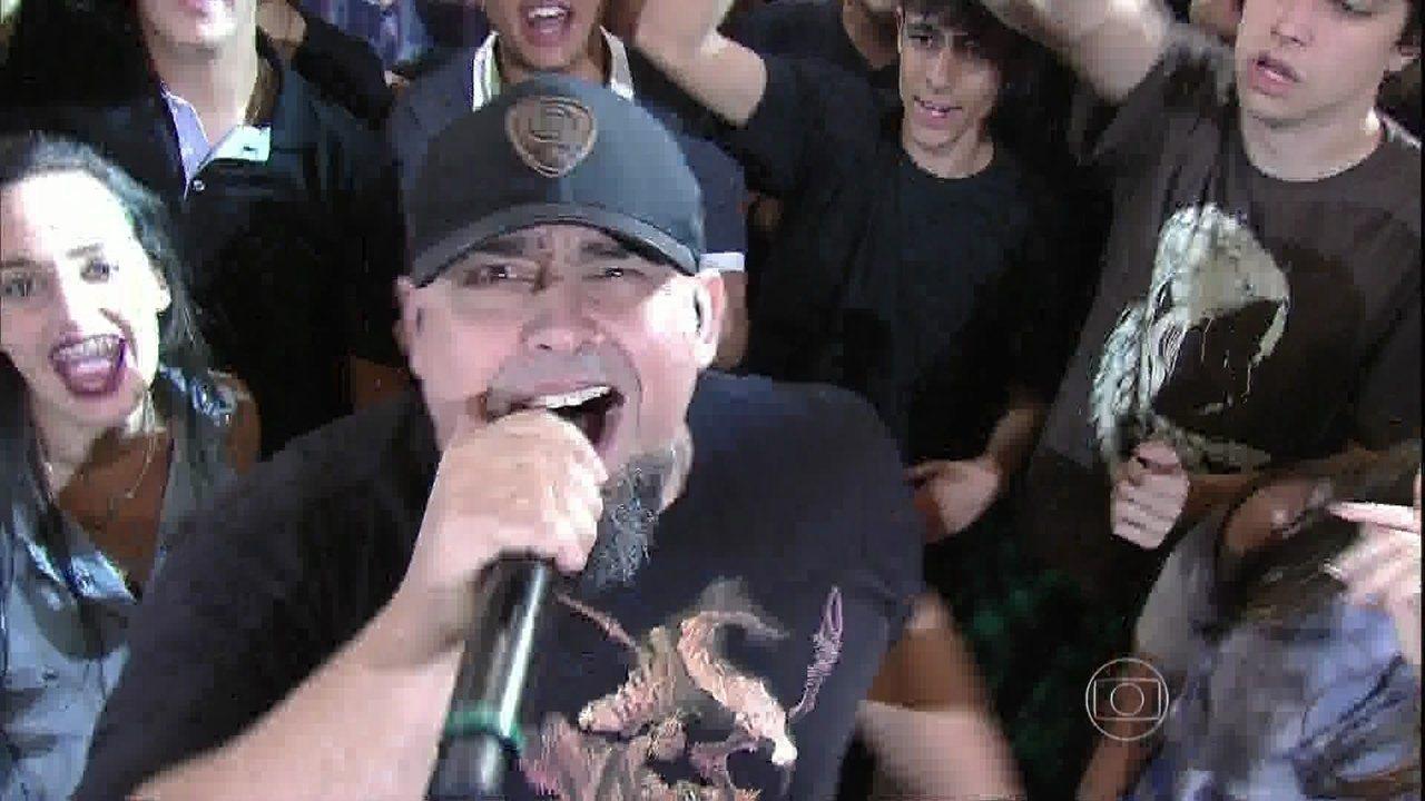 Raimundos tocam trilha sonora de 'Malhação'