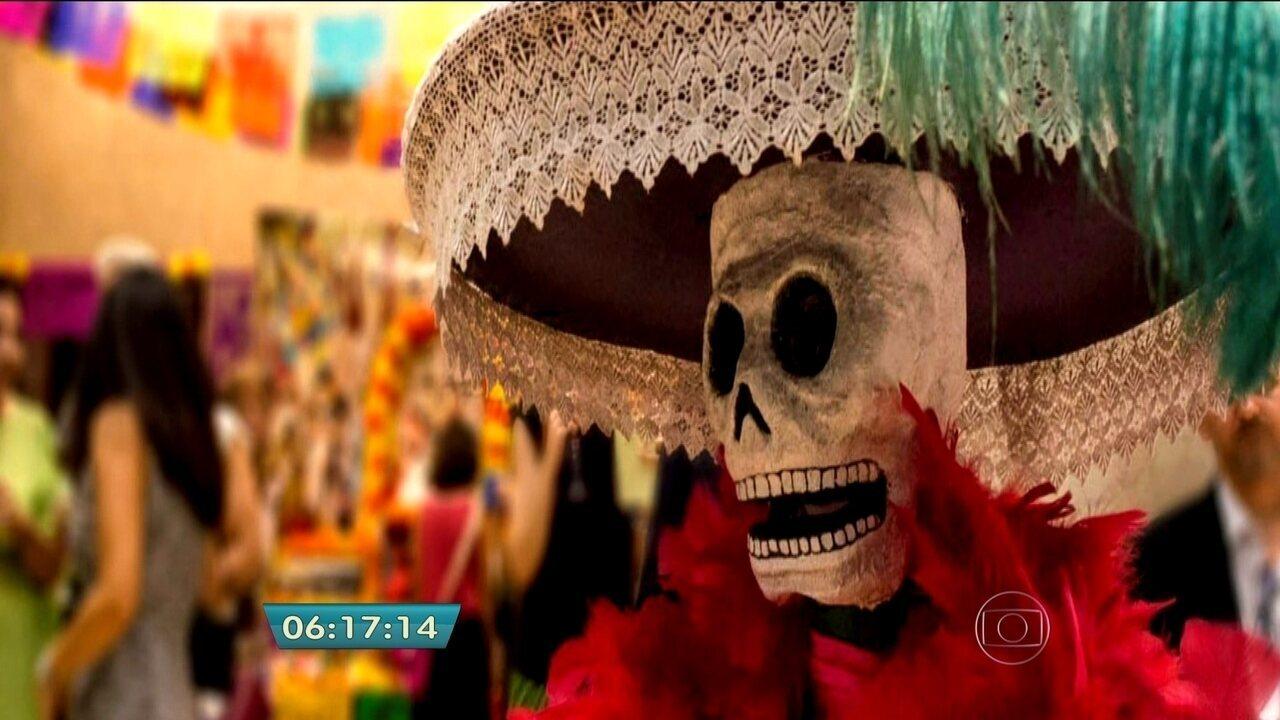 Museu do Imigrante celebra o tradicional Día de Los Muertos mexicano