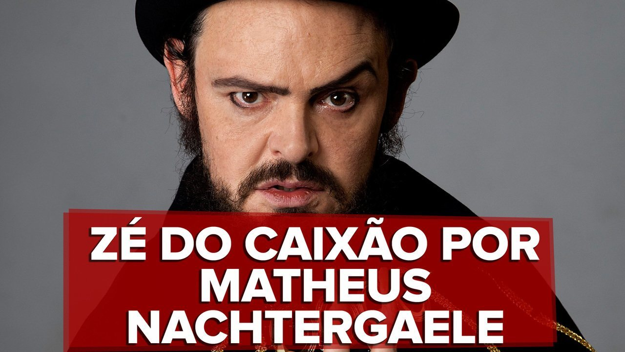 Matheus Nachtergaele é Zé do Caixão em seriado