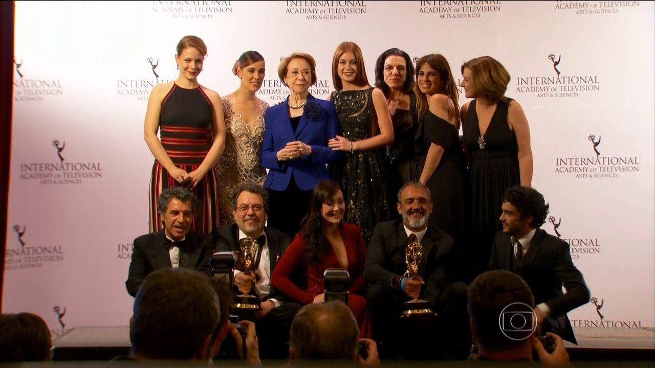 Novela Império e série Doce de mãe são vencedores do Emmy Internacional