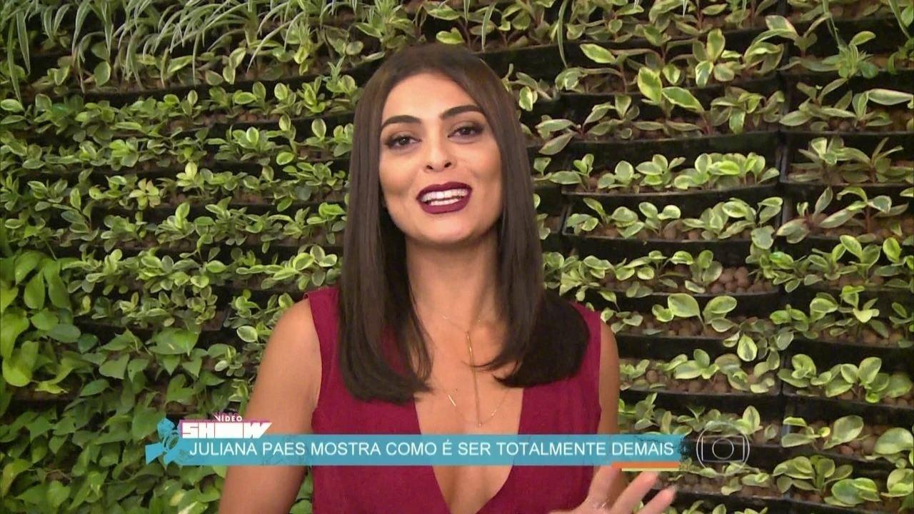 Juliana Paes mostra como é ser Totalmente Demais