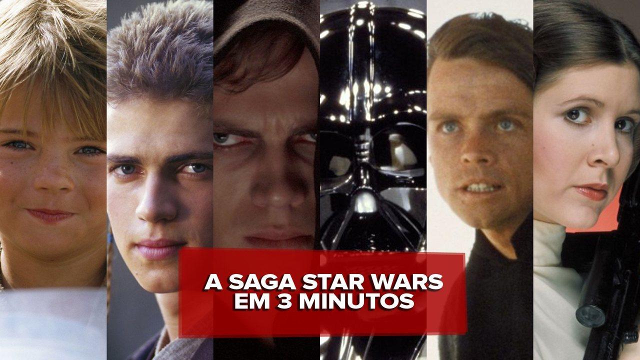 G1 conta a história dos seis episódios de 'Star Wars' em 3 minutos