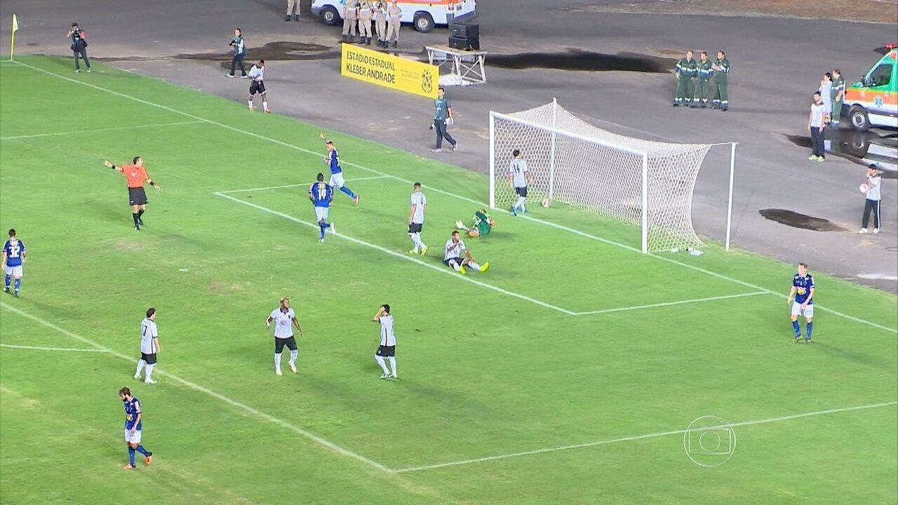 Em Cariacica, Cruzeiro derrota Rio Branco por 2 a 0 em primeiro amistoso de 2016