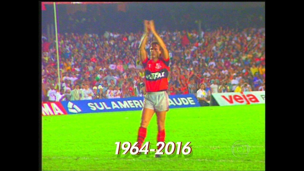 Morre gaúcho, ex-atacante e ídolo do Flamengo