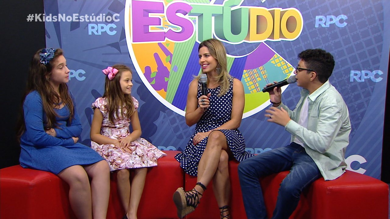 Só na web: bate-papo exclusivo com as finalistas e o campeão do The Voice Kids