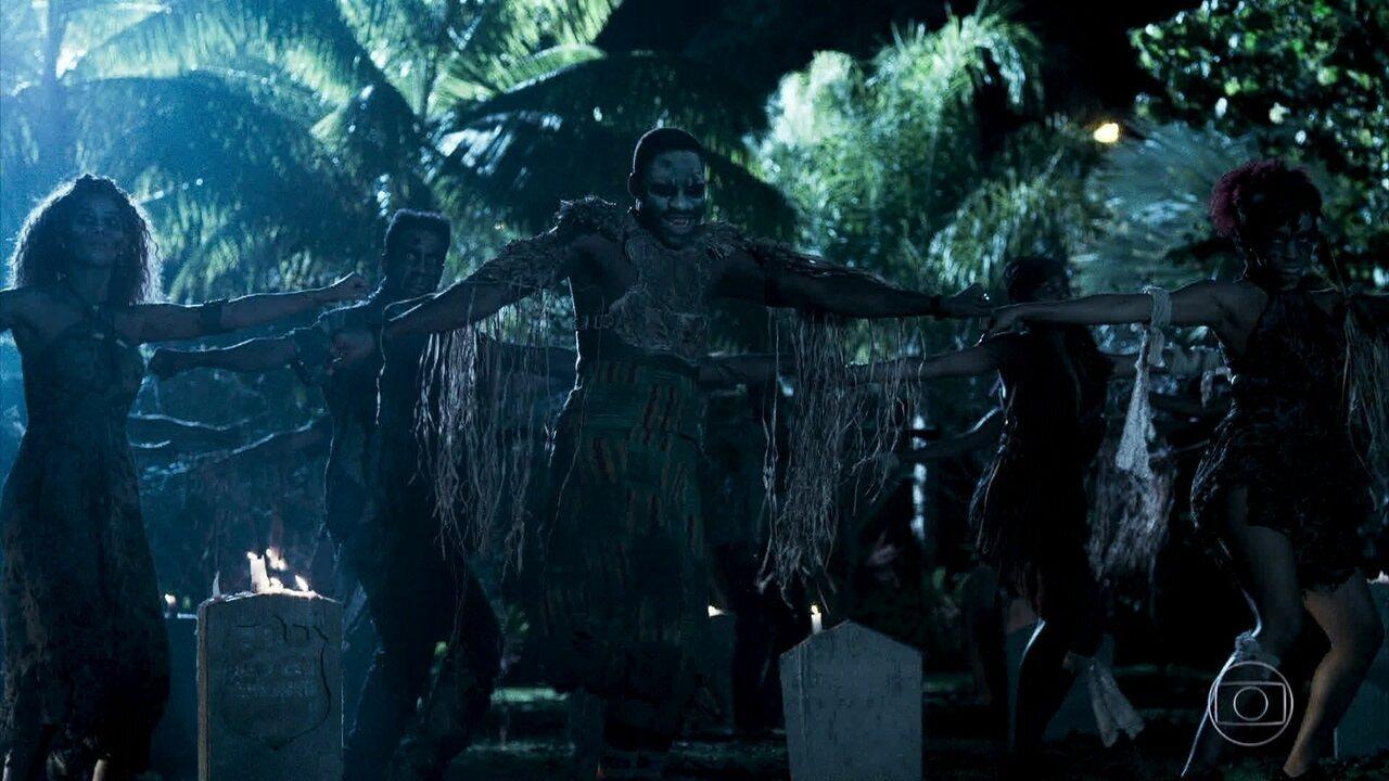 Brau dança coreografia de 'Thriller'