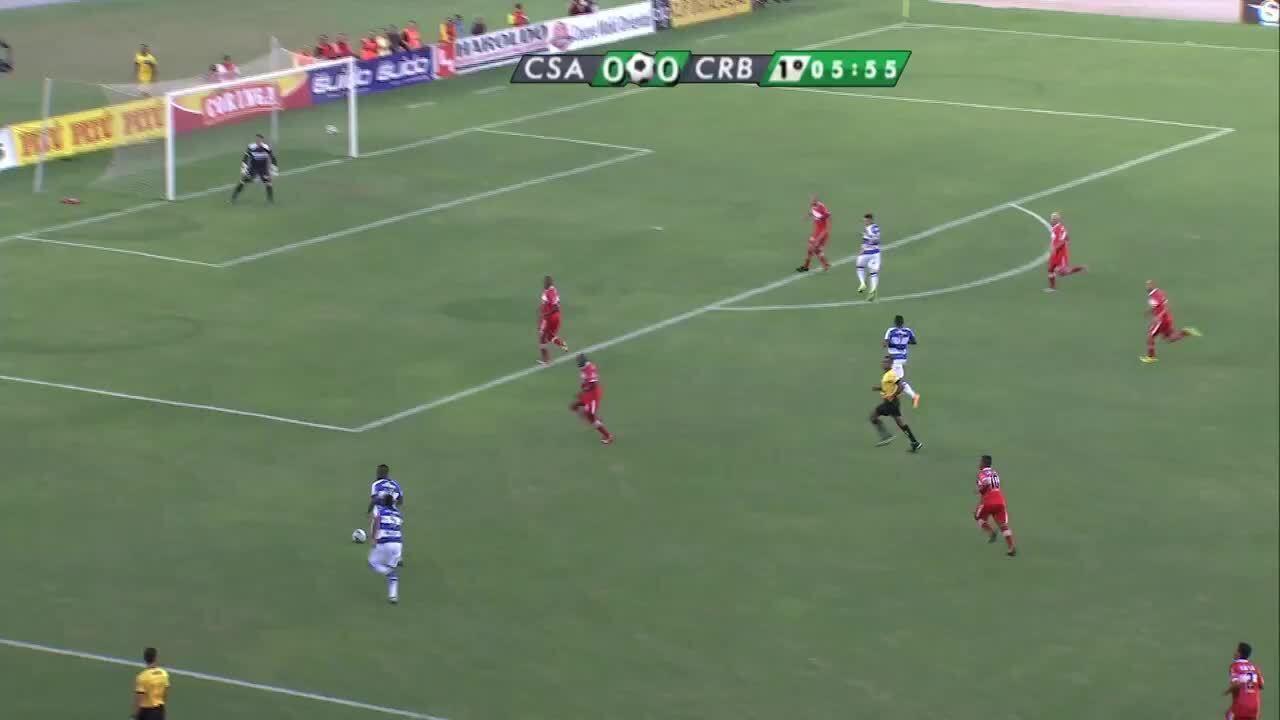 Os melhores momentos da vitória do CRB por 1 a 0 sobre o CSA na final do Alagoano