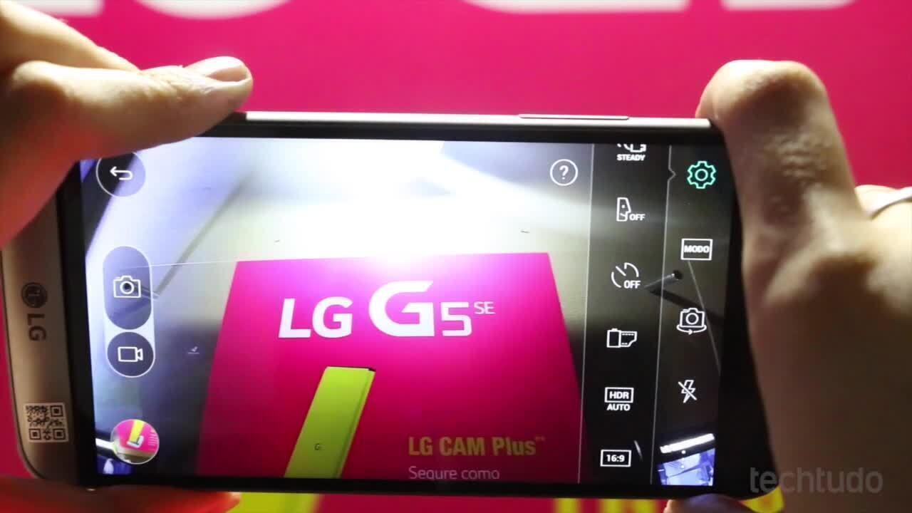 Testamos o LG G5 SE, celular com três câmeras e processador menos potente