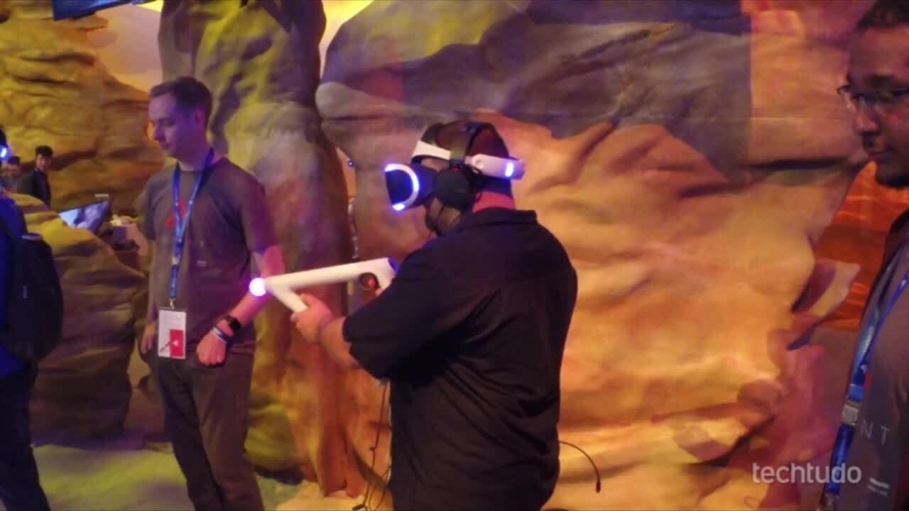 Confira imagens do PlayStation VR na E3 2016
