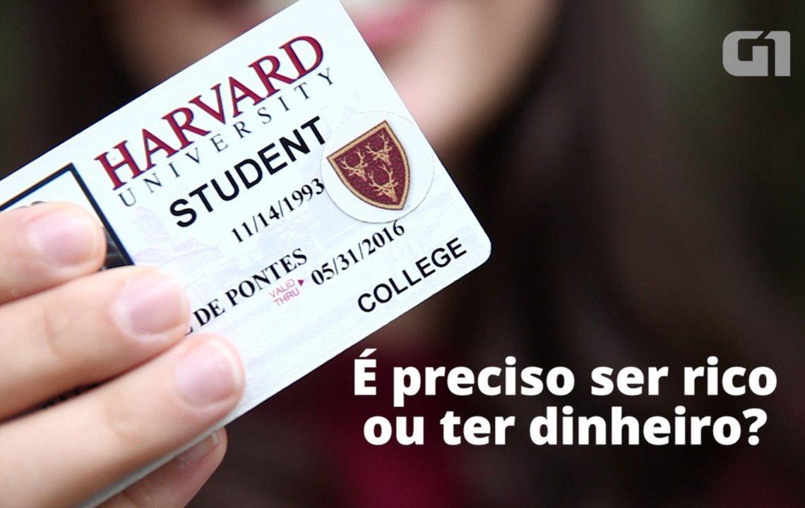 Aluna de escola pública formada em Harvard lista mitos sobre estudar fora