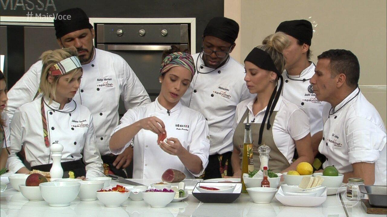 Mais voc workshop carpaccio globoplay - Super chef 2000 ...