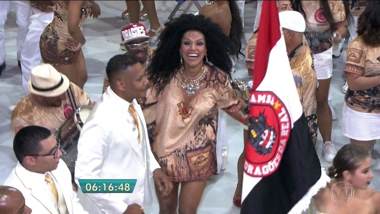 Dragões da Real escolhe o samba-enredo para o Carnaval