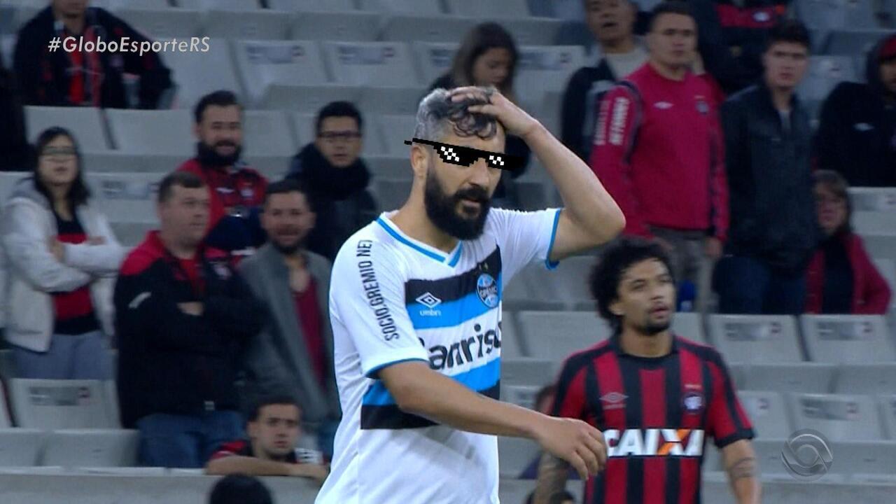 Grêmio vence o Atlético-PR na estreia na Copa do Brasil