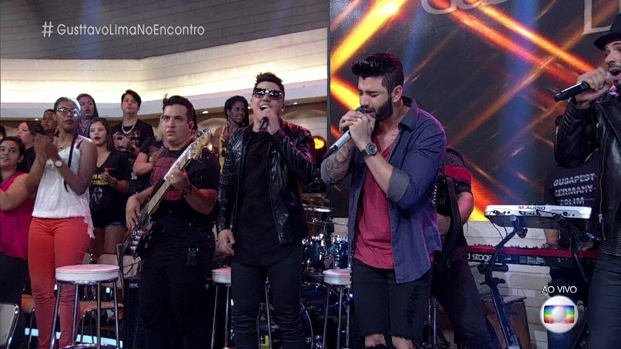 Gusttavo Lima canta 'Que Pena que Acabou'