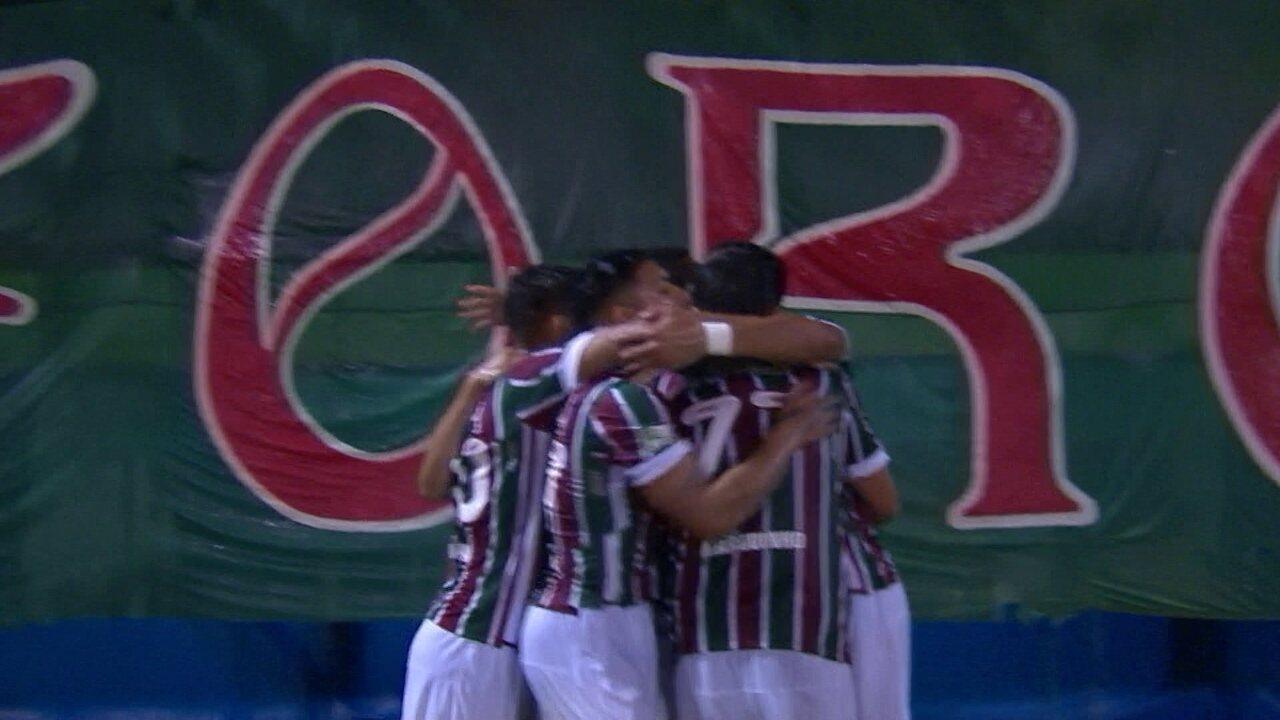Os gols de Fluminense 1 x 1 Corinthians pelas oitavas-de-final da Copa do Brasil 2016