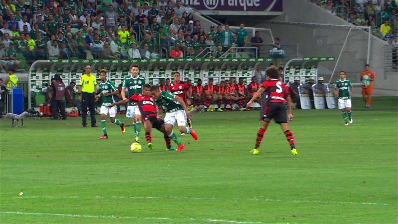 Melhores momentos: Palmeiras 1 x 1 Flamengo pela 25ª rodada do Brasileirão
