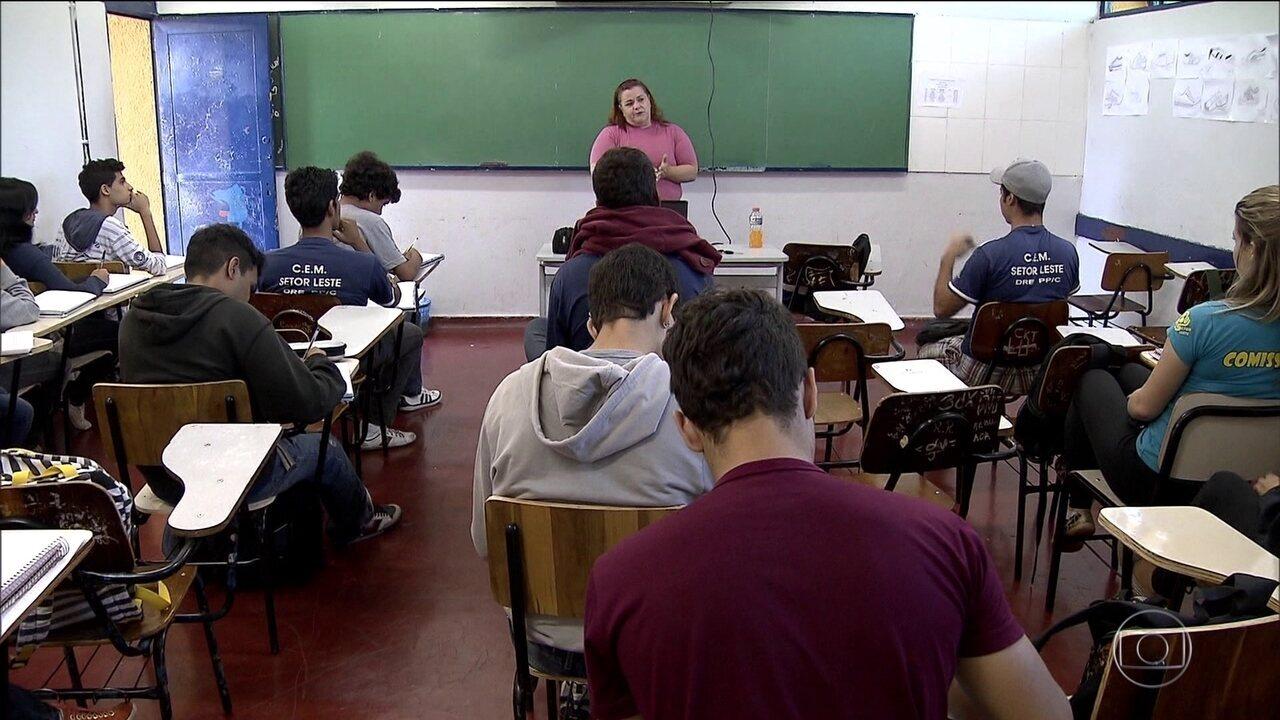 Medida Provisória propõe mudanças nas disciplinas do ensino médio