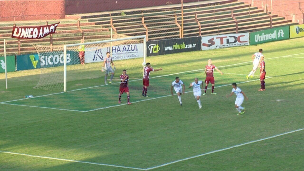 Os gols de Desportiva Ferroviária 1 x 1 Vitória-ES, pela Copa Espírito Santo 2016