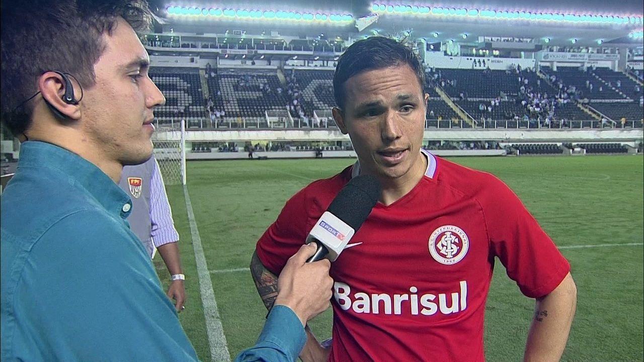 """Seijas desabafa sobre momento do Inter: """"Situação é uma m..."""""""